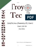 LX0 104 Q&A Demo Troytec