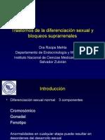 Diferenciacion Sexual- Hiperplasia Adrenal Congenita