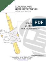 PRENSA AGROALIMENTARIA