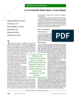 Psychiatric Sequelae of Traumatic Brain Injury; A Case Report (Am J Psy)