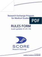 Ifmsa Score Rules Form 2014