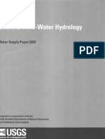 Basic Groundwater Hydrology