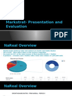 Markstrat- Presentation and Evaluation_Group 6_Section A
