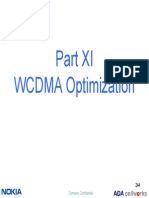 3G Overview - Part11 WCDMA Optimization