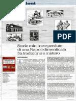 Storie minime e perdute di una Napoli dimenticata fra tradizione e mistero