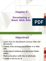Chapter 2- Developing a Web Sites