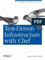 Test Driven Infrastructure by Stephen Nelson Smith