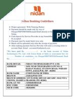 Nidan- Banking Guideline