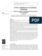 Shariah Compliance and Islamic Banking in Bangladesh
