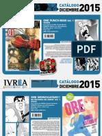 Proximas Novedades Ivrea - Diciembre 2015