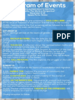 Human Rights Film Festival Programme