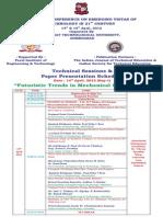 Paper Presentation List-Mechanical