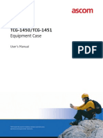 TCG-1450 & TCG-1451 Equipment Cases -- User's Manual