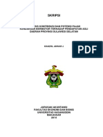 analisis kontribusi dan potensi pajak