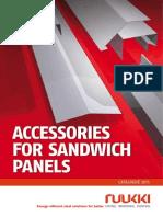 Sandwich Panels - Ruukki Accessories