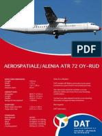Online ATR72 OY-RUD Salesbinder