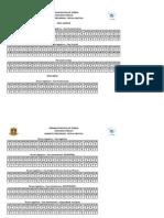 Gabarito preliminar Concurso Cãmara de Sobral 2015