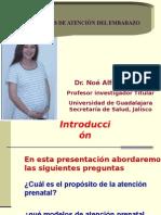 Atencion de control prenatal