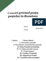 Politici Privind Piata Pestelui in Romania