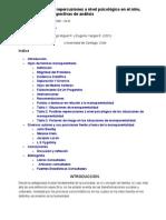 Informe - Padre Ausente y Las Repercusiones a Nivel Psicológico en El Niño, Según Diversas Perspectivas de Análisis