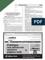 1320846-4Ley de creación del distrito de San Pablo de Pillao en la provincia y departamento de Huánuco