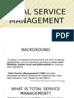 Total Service Management