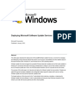 Deploying Microsoft Software Update Services 01