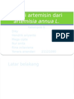 fitokimia artemisin