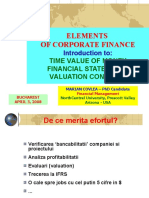 CORPORATE FINANCE 6 - TIME VALUE OF MONEY