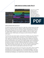 My In-Depth Look At Using Logic Pro X