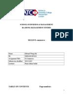 E-commerce MG319 2015