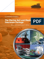 Hull Insurance Policy Specimen