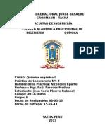 Informe 3 Organica II