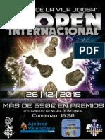 II Open Internacional Bases