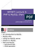Web Units Lec 4 - PHP & MySQL v2(1)-2
