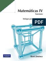 Matematicas.iv.Funciones.2ed.rene.Jimenez