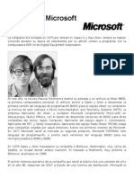 Historia de Microsoft Corporation