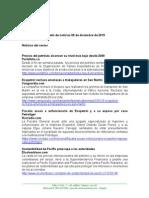 Boletín de Noticias KLR 09DIC2015