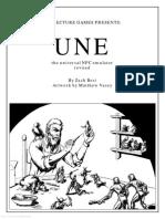 UNE the Universal NPC Emulator (Rev) (8032050)