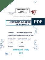 METODO DE SECCION PENDIENTE