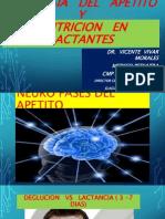 2- Fisiologia Del Apetito Nutricion en Lactantes