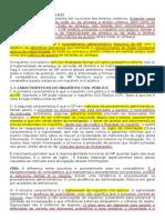 Processo Civil IV - Análise acerca do Inquérito judicial, Antecipação de Tutela, Medida Cautelar, procedimento cautelar, Ação Rescisória.