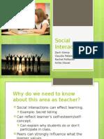 social interaction presentation