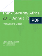 Think Security Africa 2015 Annual Report