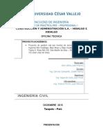Informe Final de Práctica Pre-profesionales
