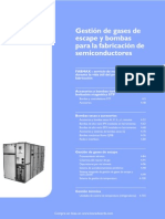 Gestion de gases para semiconductores