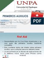 First Aid (Primeros Auxilios)