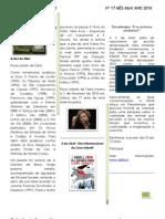 Boletim Informativo Abril 2010