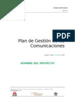 10. Plantilla Gestión de Las Comunicaciones Ok