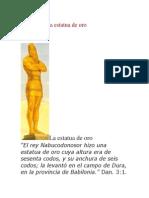 Daniel 3 – La Estatua de Oro